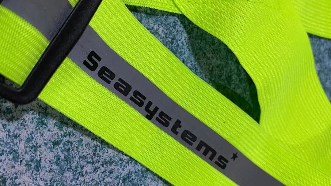how to print the logo on the reflective harness -silk printing logo