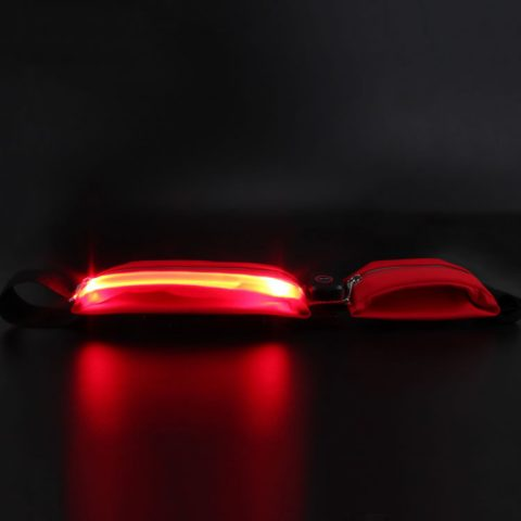 LED Running Waistbag USB Rechargeable